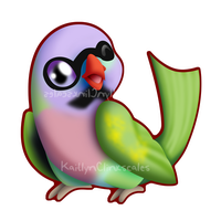 Pete the parrot by Clinkorz