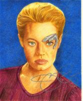 Seven of Nine by MikesStarArt