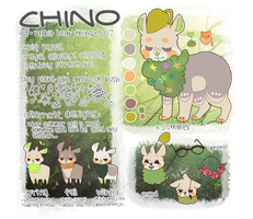 chino reference sheet by fabucchino