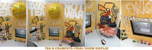 T.N.C:  Final Show Display by GagaMan