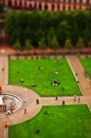 Tilt shifting In Berlin by lizabif-f