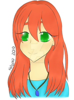 Red Haired Girl by Hollypop1993