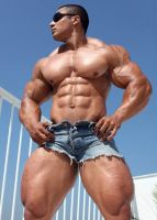 Bodybuilder 5 by Stonepiler