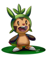 Chespin by Momiji95