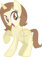 Me as Crystal pony by aqmar97