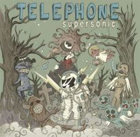 TELEPHONE-CD COVER by monez04
