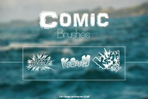 | Comic Brushes | by fattyBear