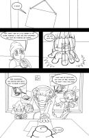 The Chaotix Detectives - Pg 01 by yuski