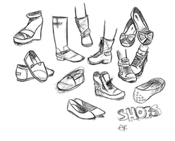 shoe study 001 by abbeylynn