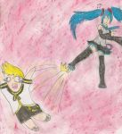 your typical vocaloid fan video clische' by kingofthedededes73