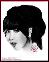 Kim Hyuna Digital Painting by stargazerlily8D