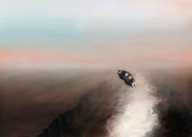 Speedpaint 8.23: Canyon Run by adit