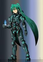 Miku Chief by ArtinScott