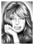 Goldie Hawn by gregchapin