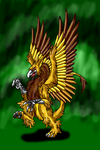 Dec. Request-Gryphon Segreant by Scatha-the-Worm