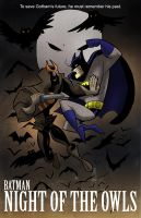 Batman: Night of the Owls and Comic Con Special by toonbaboon