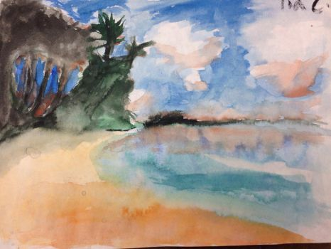 Random Watercolor Painting 3 by TheDrumMajor