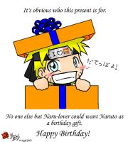 HAPPY B-DAY NARU-LOVER 8D by ItaLuv