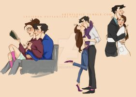 Sherlolly Drawing Dump by lexieken