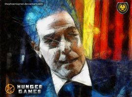 The Hunger Games - Caesar Flickerman by thephoenixprod