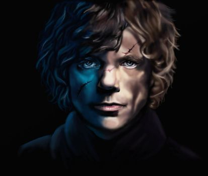 Tyrion Lannister Digital Painting by EnigmaticDoodle