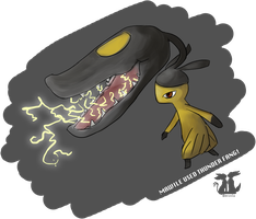 Mawile by wingedphantasy
