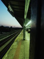 Metro Station II. by LouiseCypher