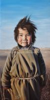 Happy Mongoly Girl by Marcysiabush