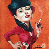Smokin' Candace Campbell by DrSizzle