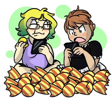 Lifetime supply of Miitomo candy by corryd493