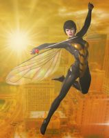 The Wasp 'Sunset City' Series by DevilishlyCreative