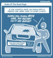 Rules Of The Road Rage by schizmatic