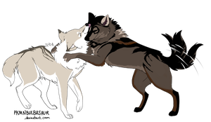 Breedables - Wolf Couple No. 1 [CLOSED] by ChrizSplash