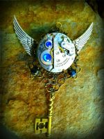 Mechanical Dream Mechanized Fantasy key by ArtByStarlaMoore