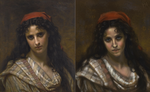 Hugues Merle - Young Beauty Study by pyro-helfier