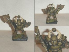Chaoswarrior of Nurgle from Heroquest by fips001