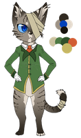 Fallen Cat Lord = AUCTION- CLOSED (Points/Paypal) by SwarThylacine-Adopts