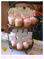 Pink Baby Shower Cakes by WireMySoul