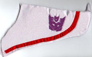 Starscream Plushie Wing by Tutankhamun