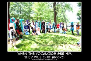 Vocaloids Will Shit Bricks by DevilishSaintNY