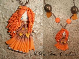 Autumn Merida Polymer Clay by Nakihra