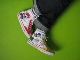 Paper Mario Shoes 03 by ewiku