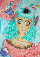 Dead Cupcake Diva by SweetSophie