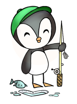 The Fisher-Guin by KaSniff