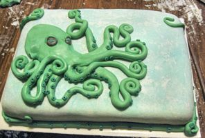 Octopus Cake by absynthia