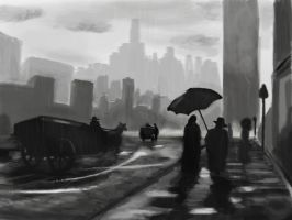 Rain In The City by S-ProductionGames