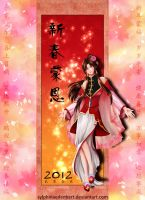 Chinese New Year 2012 by SylphinaEdenhart