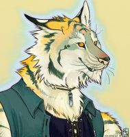 tigerwolf by kattything