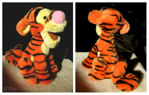 Disney Store - Sitting Tiger Plush by The-Toy-Chest
