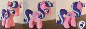 [FOR SALE] Starlight Glimmer / Mayor Marks Plush by MalwinaHalfMoon